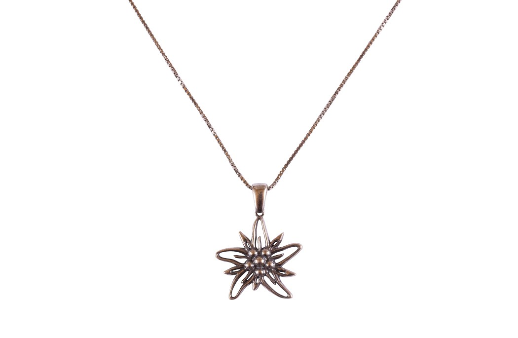 Edelweiss Collier Silber vintage EB009