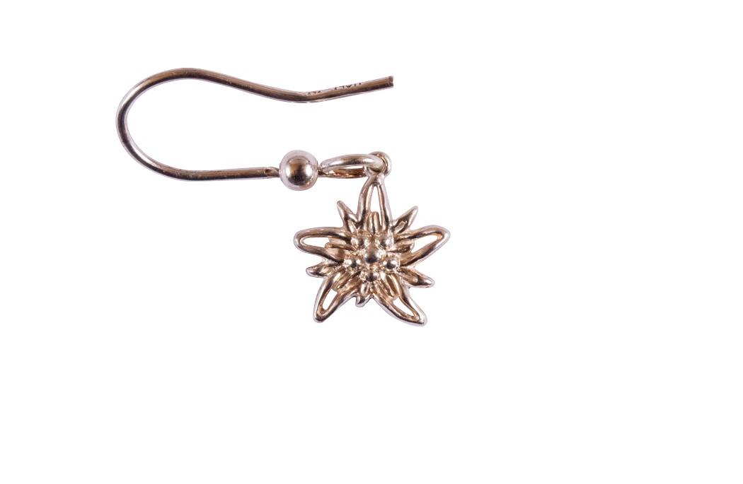 Edelweiss Ohrhänger Paar Silber EB013